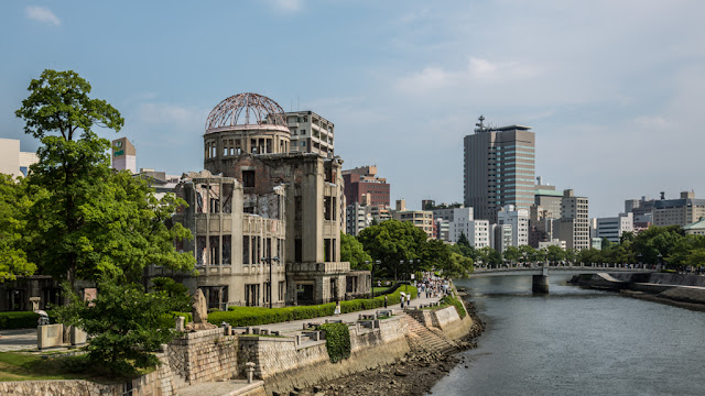 Monumento de la Paz de Hiroshima :: Canon EOS5D MkIII | ISO100 | Canon 24-105@35mm | f/8.0 | 1/160s