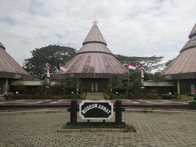Taman Legenda TMII, museum asmat