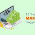 25 Legit Ways to Make Money Online Blogging with WordPress and Blogger