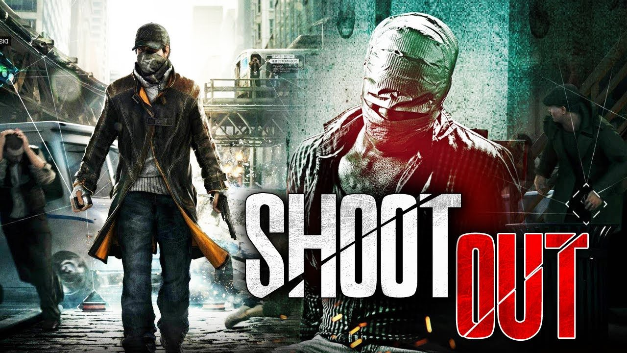 Poster Of Shootout In Hindi Dubbed 300MB Compressed Small Size Pc Movie Free Download Only At worldfree4u.com