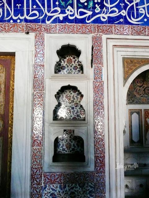 Palacio Topkapi azulejos