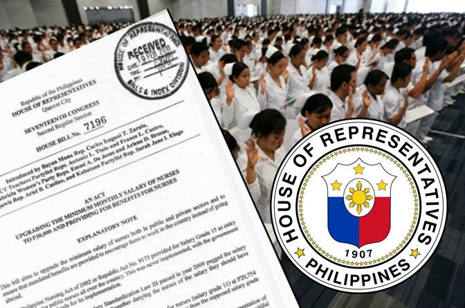 Solons seek to increase salary of government nurses to P30,000