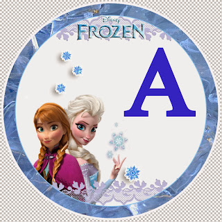 Frozen Alphabet.