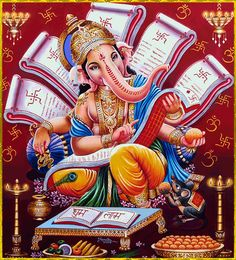 100+ Best Ganesh Mantra Images (2019) | Happy Diwali 2019