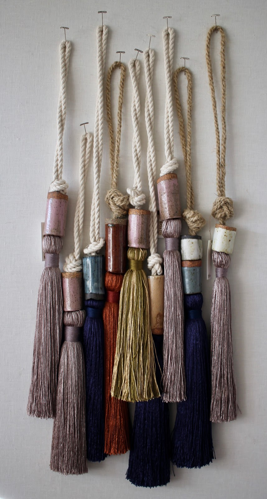 All Roads Silk Tassels