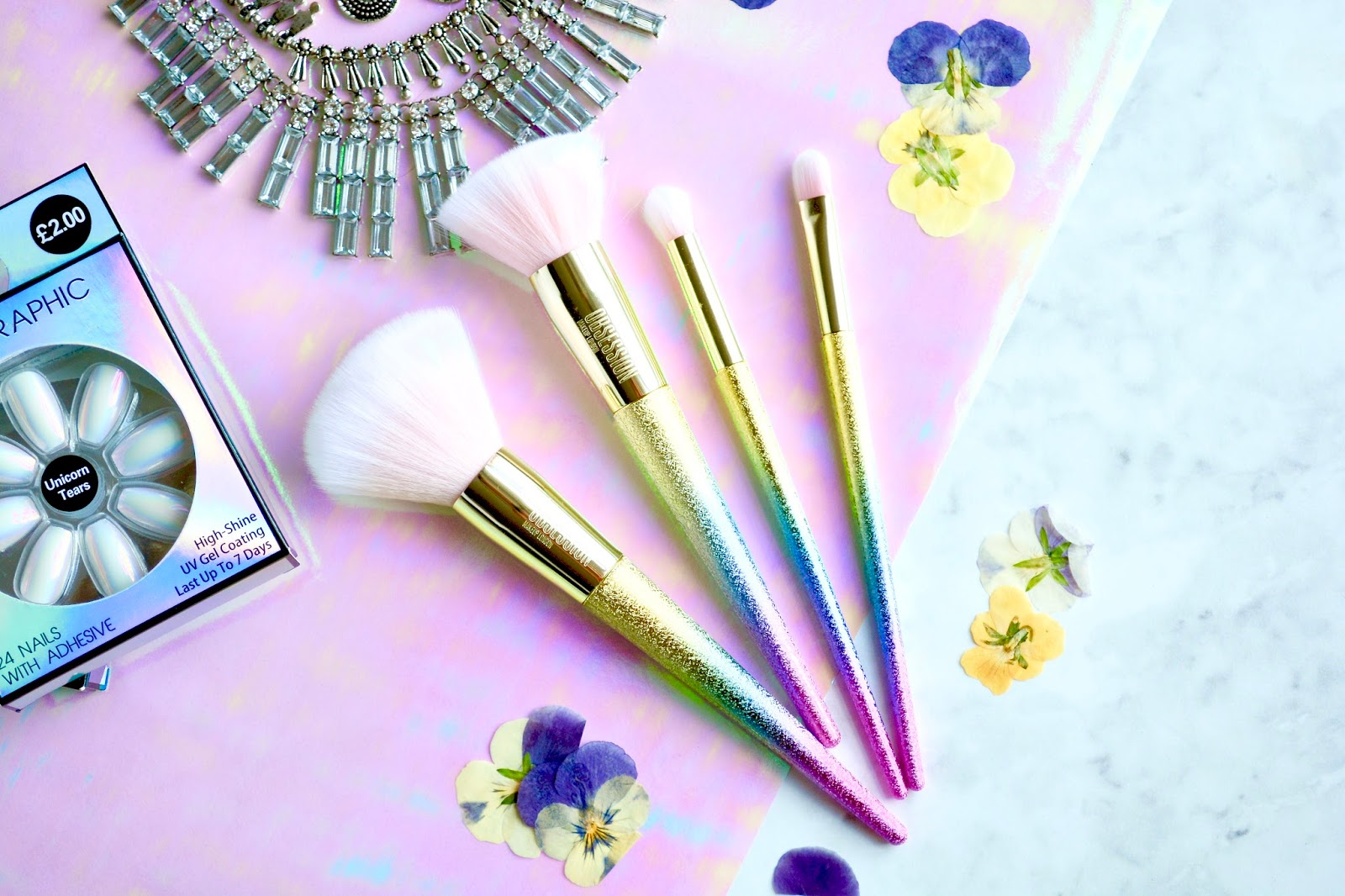 Makeup Obsession Glitter Collection Makeup Brushes