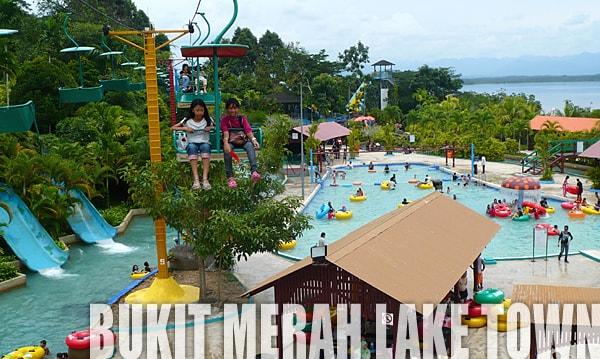 Bukit Merah Lake Town Water Park