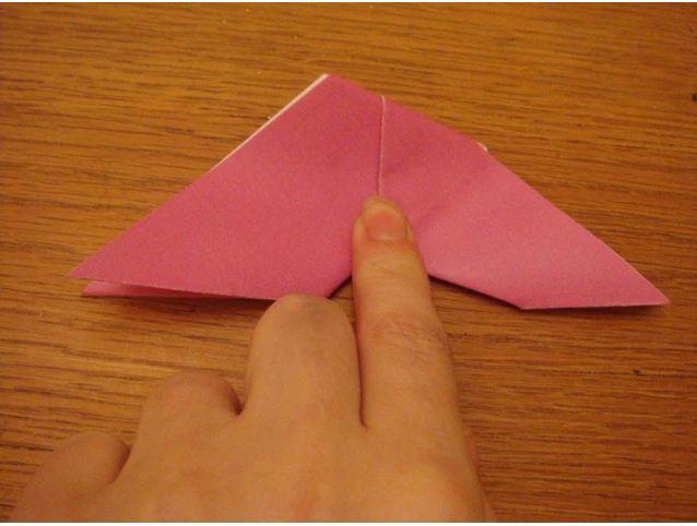 membuat origami kupu kupu