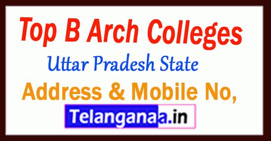 Top B Arch Colleges in Uttar Pradesh