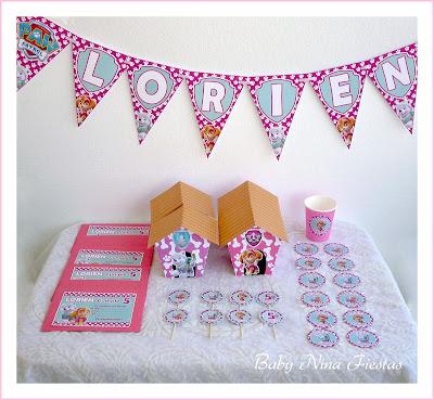 kit de cumpleaños Skye y Everest