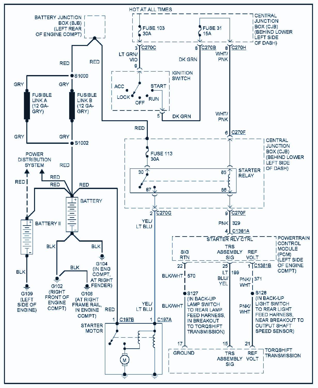 pcm wiring diagram 1989 ford bronco