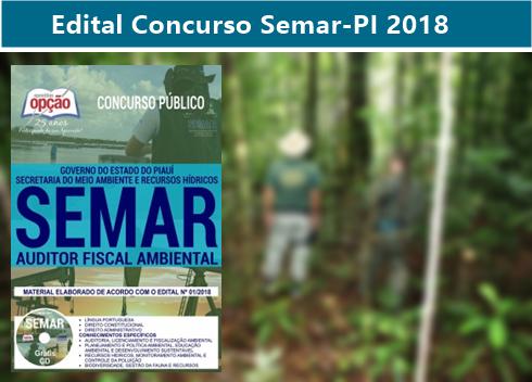 apostila Concurso Semar-PI para auditor fiscal ambiental