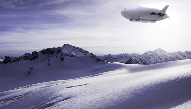 Airlander 10, the world's largest airplane, will soon sail across the skies