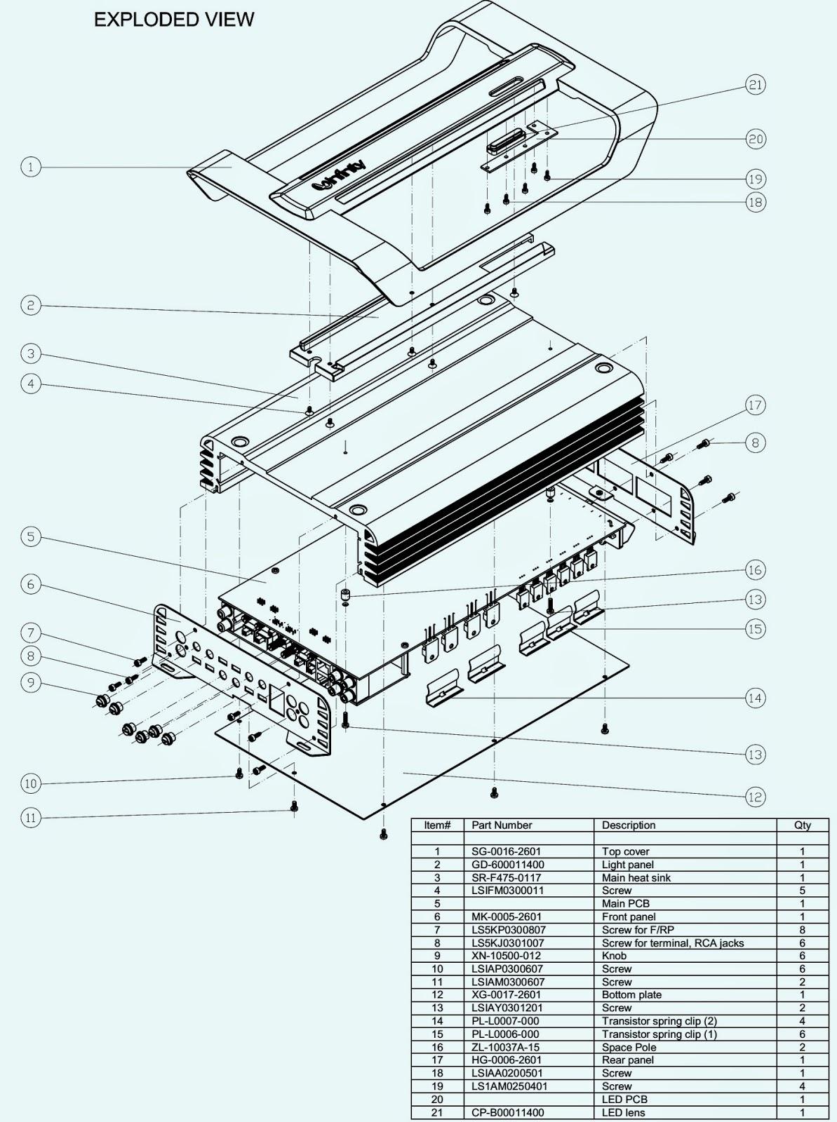 Infinity Ref475a Car Audio Circuit Diagram