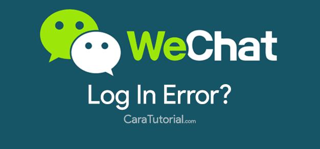 Mengatasi Lupa Password WeChat yang Tidak bisa Login