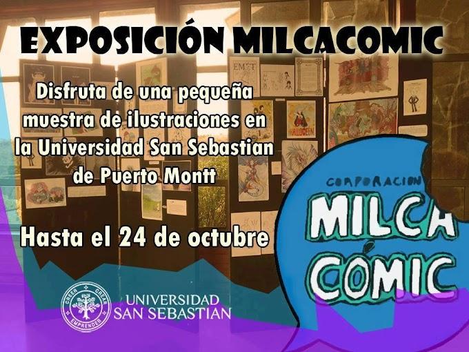 Milcacómic en la Universidad San Sebastián