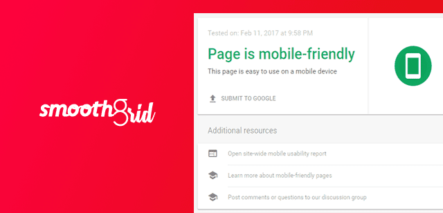Smooth Grid Mobile friendly blogger template