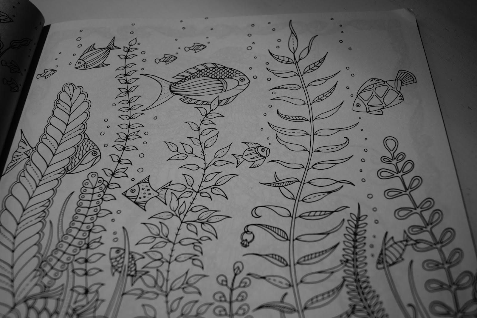 Made By Bibi Zaginiony Ocean Koloruj Ozdabiaj Znajd Ukryte Skarby