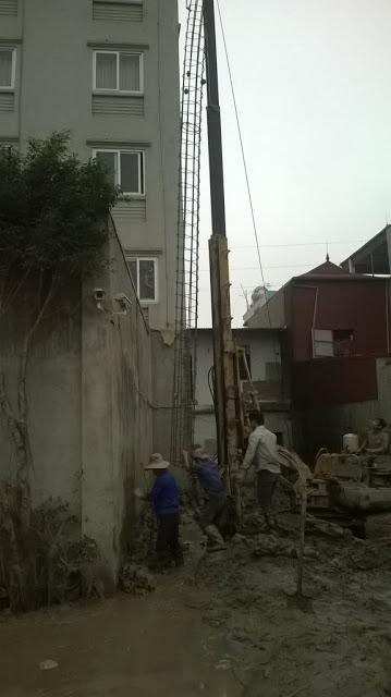 Thi công cọc nhồi tại Hà Nội