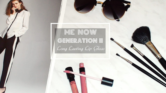 me now generation II lipgloss review