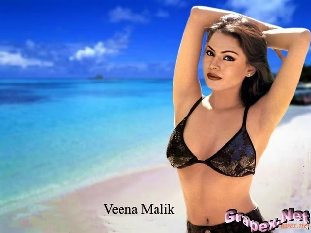 Girls On Beach, Indian Dasi Anuty, Veena Malik, Pakistani -3115