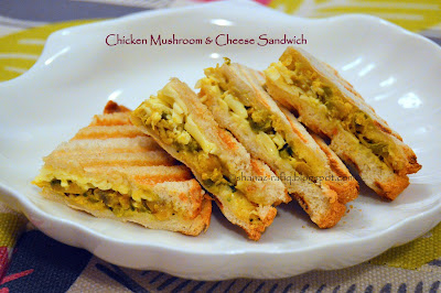 Chicken Mushroom & Cheese Sandwich