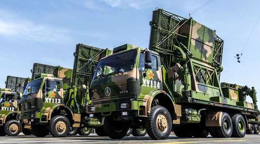 China Early Warning Radar Truck