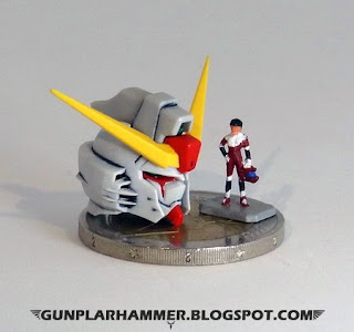 1/144 RG Destiny Gundam Head + Shinn asuka