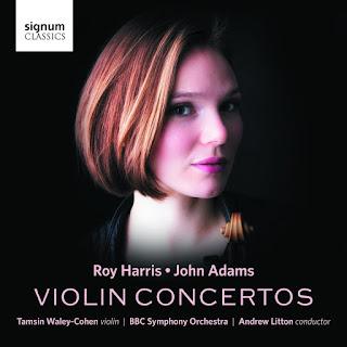 Roy Harris, John Adams - Violin Concertos - Tamsin Waley-Cohen - Signum