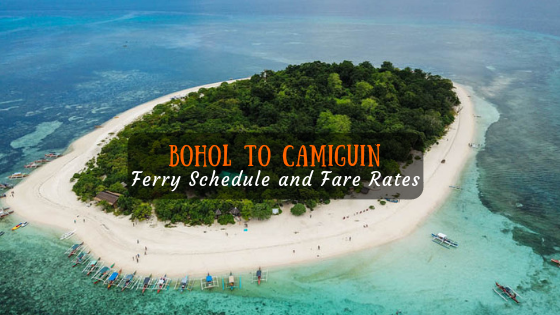 Camiguin To Bohol Ferry Schedule And Fare Rates Escape