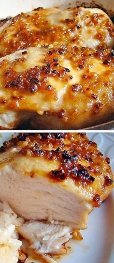 Baked Garlic Brown Sugar Chicken