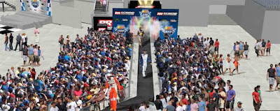 Richmond Raceway Introduces #NASCAR New Driver Introductions in the DC Solar FanGrounds