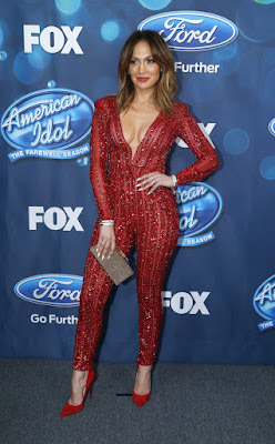 El look de Jennifer López en la final de American Idol