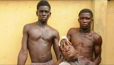 2 brothers Arrested with fresh Human head in Lagos