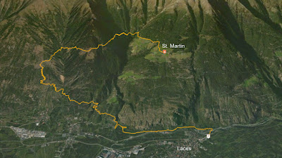 GPS St. Martin im Kofel