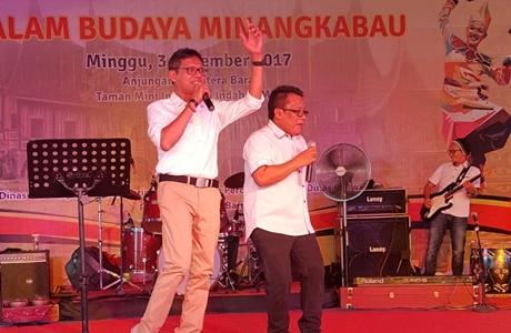 Hadiri Malam Budaya Minangkabau, Gubernur Irwan: Mari Kita Promosikan Pariwisata Sumbar