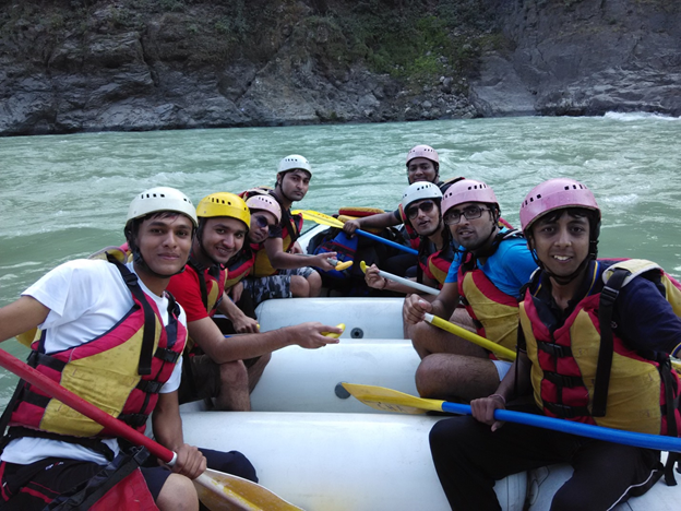 River rafting at rishikesh