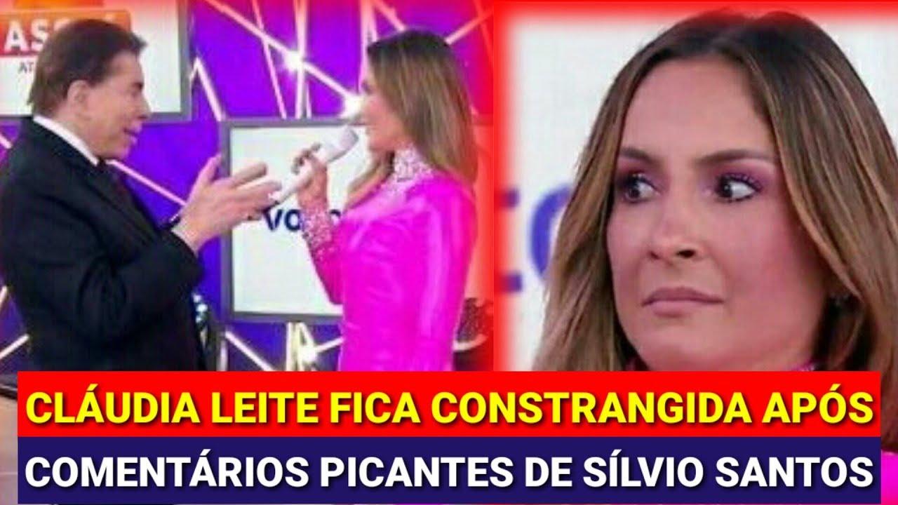 Claudia Leitte canta no Teleton 2018 e é assediada por Silvio Santos ... d14bd59223