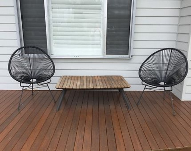 outdoor table and chairs newcastle