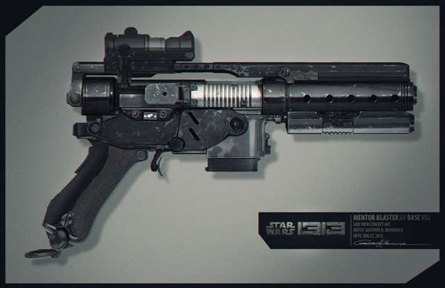 Filtran nuevas imágenes del cancelado Star Wars 1313.