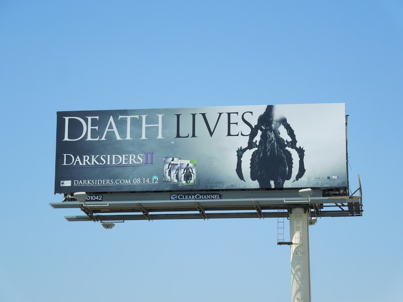 Darksiders II game billboard
