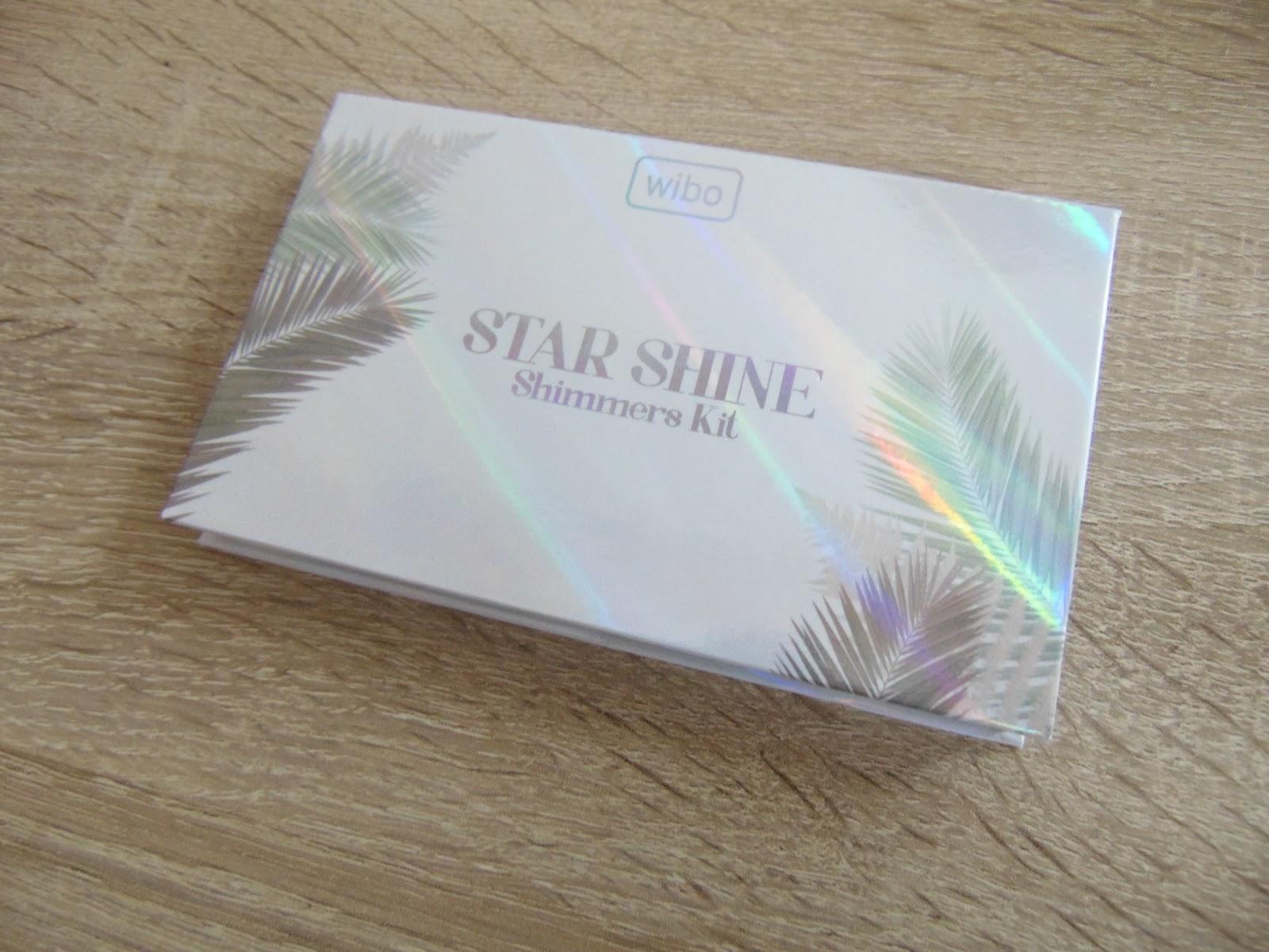 wibo paleta rozświetlaczy STAR SHINE