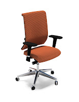 Fully Upholstered Commute Chair