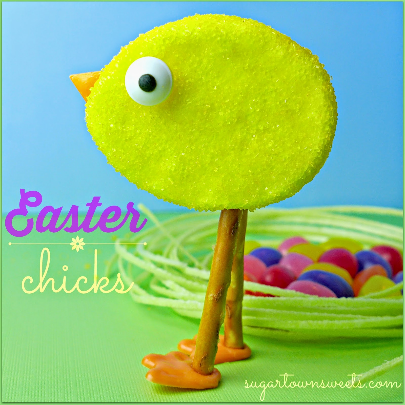 30 Superb Last Minute Easy Easter Crafts For Your Decor: Sugartown Sweets: Easter Chicks