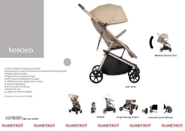 sweet cherry stroller murah