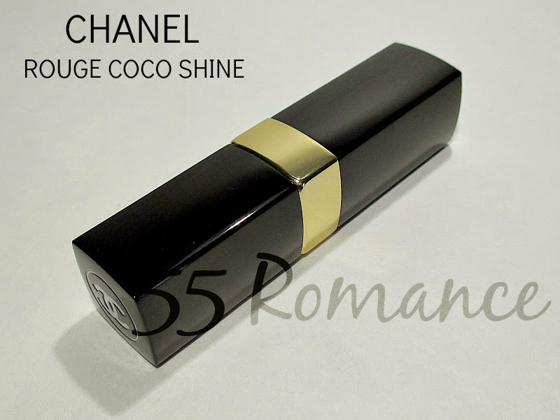 Chanel Rouge Coco Shine Lipstick In No 55 Romance Notes From My