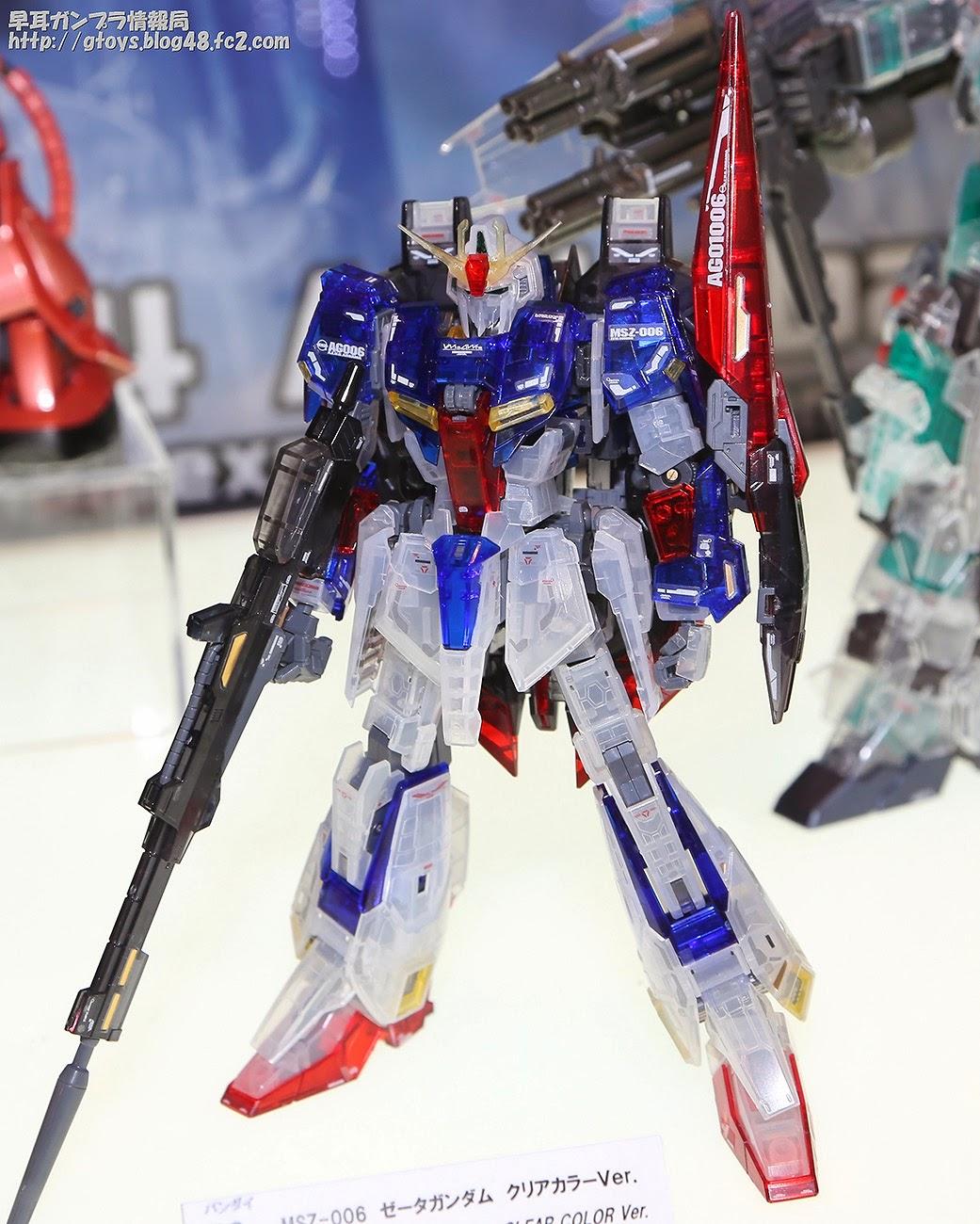 Image result for Zeta Gundam Clear color