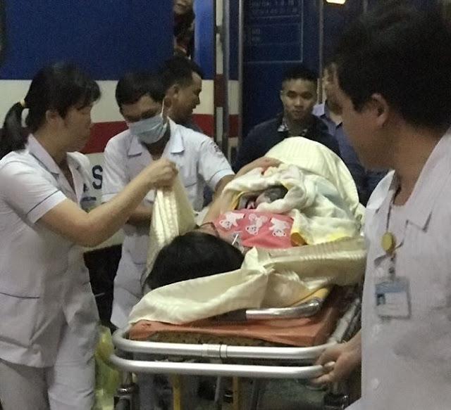 Hành khách Quảng Ngãi sinh con trên tàu Thống Nhất khi đang về quê nghỉ lễ