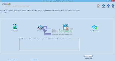 Aidfile Recovery SOftware terbaru gratis untuk megembalikan data yang hilang