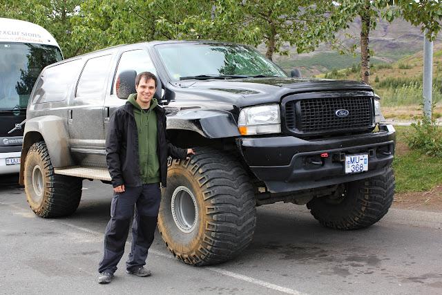 Los todoterrenos islandeses son super coches